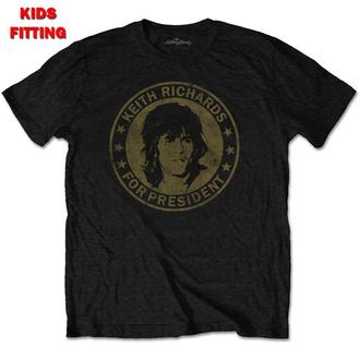 Otroška metal majica Rolling Stones - Keith For President - ROCK OFF, ROCK OFF, Rolling Stones