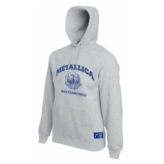 Moški hoodie Metallica - San Francisco - Siva, NNM, Metallica