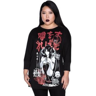 Ženska majica (tunika) KILLSTAR - Rumour - Raglan, KILLSTAR