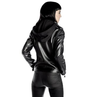 usnje jakno ženske - Ruth Less Veganomicon Biker - KILLSTAR, KILLSTAR