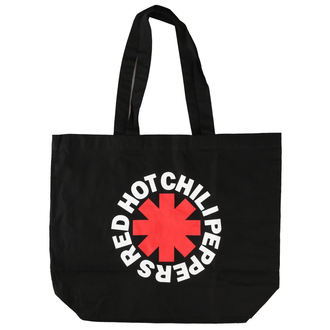 Torba Red Hot Chili Peppers - Asterisk Logo - Črna Shopper, NNM, Red Hot Chili Peppers