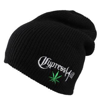 Beanie Cypress Hill - Leaf Logo - Črno, Cypress Hill