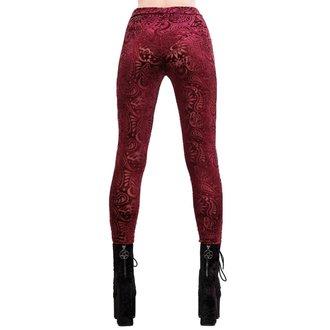 Ženske hlače (pajkice) KILLSTAR - Saiph - Vino, KILLSTAR