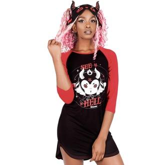 Ženska majica (pižama) KILLSTAR - See U In Hell, KILLSTAR
