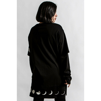 Unisex majica z dolgimi rokavi KILLSTAR - Shine Bright 2-Layer - Črna, KILLSTAR