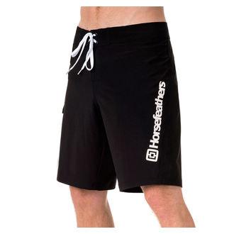 Moške Kratke hlače (kopalke) HORSEFEATHERS - GILLER - Črna, HORSEFEATHERS