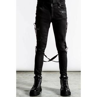 moške hlače KILLSTAR - Sonic Doom Jeans - Črna, KILLSTAR