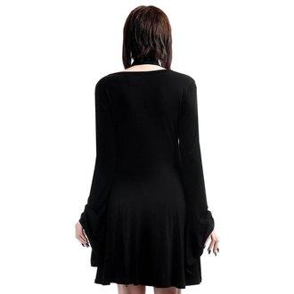 Obleka ženske KILLSTAR - Spyda Lace-Me-Up - Črno, KILLSTAR