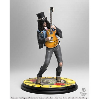 Figura Guns N' Roses - Slash - Rock Iconz, KNUCKLEBONZ, Guns N' Roses