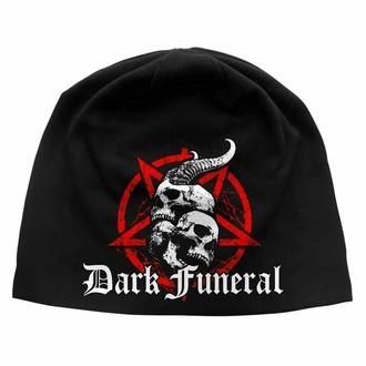 Beanie Kapa DARK FUNERAL - SKULLS & PENTAGRAM - RAZAMATAZ, RAZAMATAZ, Dark Funeral