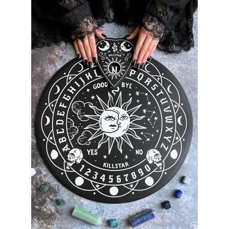 Ouija spiritualna plošča (preroška plošča) KILLSTAR - Spiritus Okrogla - ČRNA, KILLSTAR
