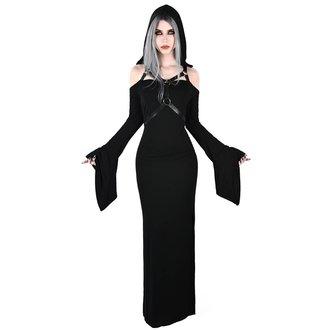 Ženska obleka KILLSTAR - TABITHA TOMB - BLACK, KILLSTAR