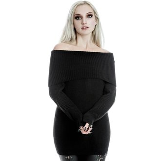Ženski pulover KILLSTAR - Tabitha - ČRNA, KILLSTAR