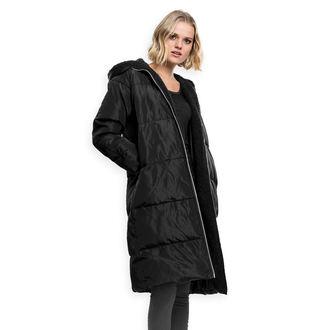 Ženski plašč URBAN CLASSICS - Puffer - črna / črna, URBAN CLASSICS