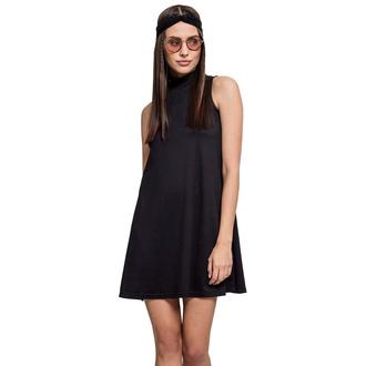 Ženska obleka URBAN CLASSICS - A-Line Turtleneck, URBAN CLASSICS