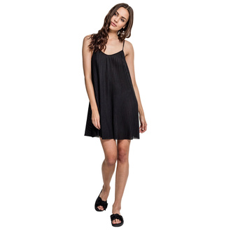 Ženska obleka URBAN CLASSICS - Pleated Slip, URBAN CLASSICS
