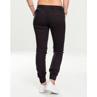 Ženske hlače URBAN CLASSICS - Biker Jogging - črna, URBAN CLASSICS