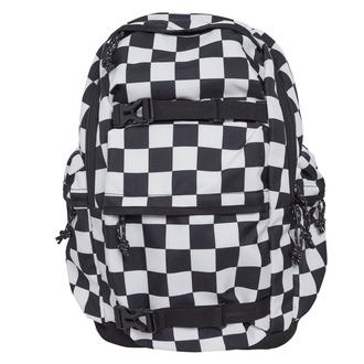 Nahrbtnik URBAN CLASSICS - Checker black & white - črnobela, URBAN CLASSICS
