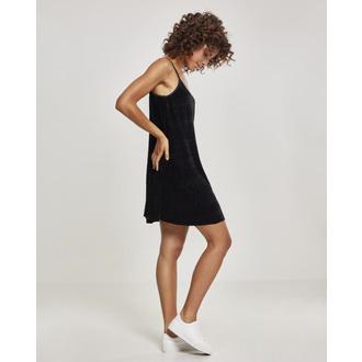 Ženska obleka URBAN CLASSICS - Velvet Slip, URBAN CLASSICS