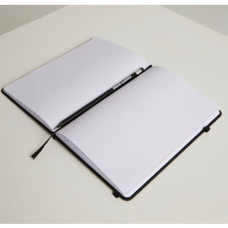 Beležka za pisanje URBAN CLASSICS - black, URBAN CLASSICS