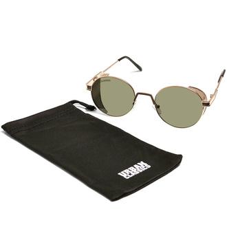 sončna očala URBAN CLASSICS - Sicilia - zlata/ rjava, URBAN CLASSICS
