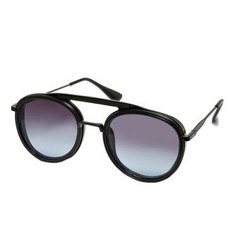 Sončna očala URBAN CLASSICS - Ibiza - črna / črna, URBAN CLASSICS