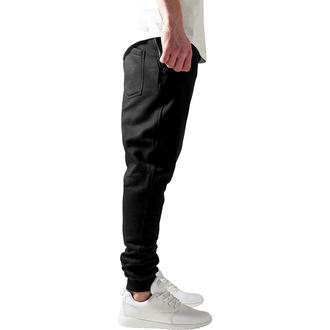 Moške hlače (sweatpants) URBAN CLASSICS - Leather Pocket, URBAN CLASSICS
