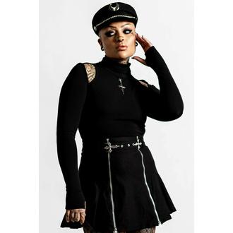 Ženska majica z dolgimi rokavi KILLSTAR - Temptress - Črna, KILLSTAR