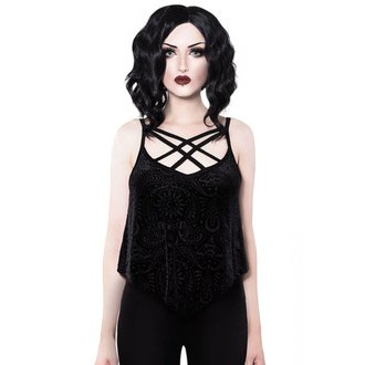 Ženski Tank Top KILLSTAR - Thea - BLACK, KILLSTAR