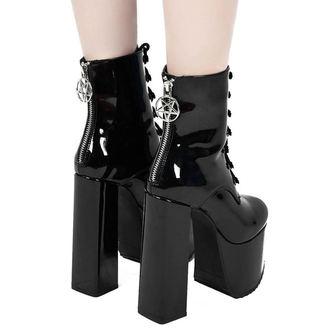 Ženski škornji z visoko peto - Trance - KILLSTAR, KILLSTAR
