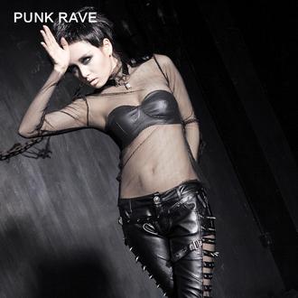 Ženska Gotic/Punk majica - MeshMerizer - PUNK RAVE, PUNK RAVE