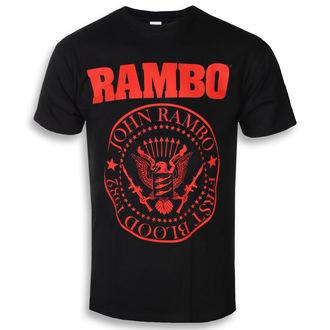 Moška filmska majica Rambo - FIRST BLOOD 1982 - PLASTIC HEAD, PLASTIC HEAD