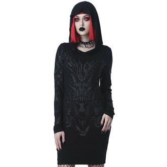 Ženska obleka KILLSTAR - Untamed - Črna, KILLSTAR