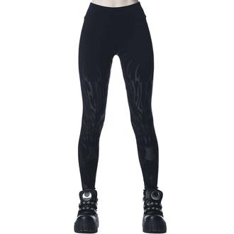 Ženske hlače (legice) KILLSTAR - Untamed - Črna, KILLSTAR