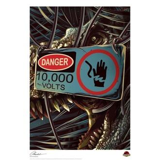 Natisnjena slika Jurassic Park - Danger, NNM, Jurski park