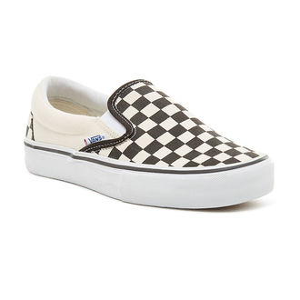 Uniseks nizke superge - MN Slip-On Pro (Checkerboard) - VANS, VANS