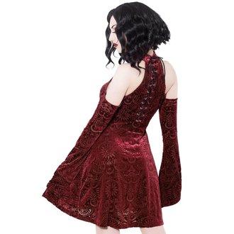 Ženska obleka KILLSTAR - Vela - Vino, KILLSTAR
