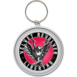 ključ prstan - obesek Velvet Revolver (Krog Logo) - ROCK OFF, ROCK OFF, Velvet Revolver