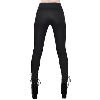 Ženske hlače (leggings) KILLSTAR - Viper Lace-Up, KILLSTAR