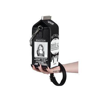 Ročna torbica (torba) KILLSTAR - WICKED MILK - BLACK, KILLSTAR