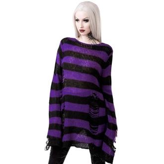 Unisex pulover KILLSTAR - Wonka - Črna, KILLSTAR