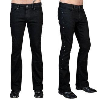 Moške hlače (kavbojke) WORNSTAR - Gauntlet - Črna, WORNSTAR