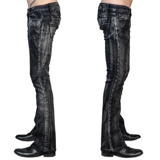 Moške hlače (kavbojke) WORNSTAR - Hellraiser Smoke - Črna, WORNSTAR