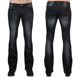 Moške hlače (kavbojke) WORNSTAR - Hellraiser - Vintage Črna, WORNSTAR