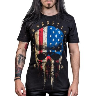 majica hardcore moški - Americoma - WORNSTAR - WSUS-AMCA