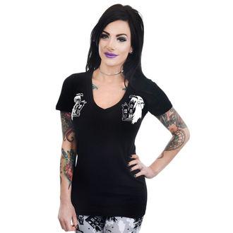 Ženska gothic in punk majica - HAUNTED HOUSE & GHOSTS - TOO FAST, TOO FAST
