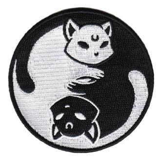 Našitek (za likanje) KILLSTAR - Yin Yang - BLACK, KILLSTAR