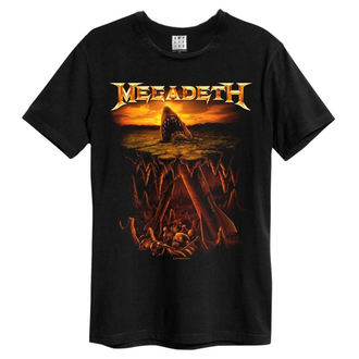 Moška metal majica Megadeth - Nuke Shark - AMPLIFIED, AMPLIFIED, Megadeth