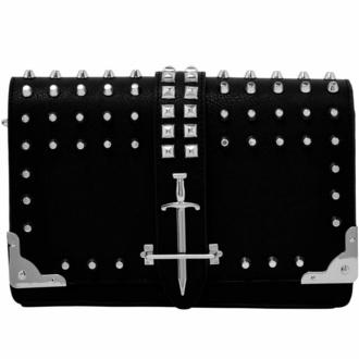 Torbica (torba) KILLSTAR - Zeva Shoulder - Črna, KILLSTAR