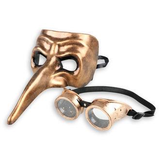 Dekorativna obrazna maska (komplet) ZOELIBAT - Steampunk, ZOELIBAT